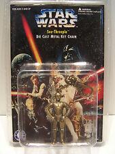 Star Wars Placo Toys C-3PO Die Cast Metal Key Chain  MOC 1996