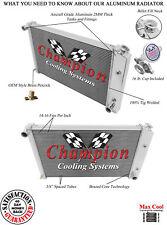 "2 Row 1"" Discount Champion Radiator for 1970 - 1981 Pontiac Firebird/Trans Am"