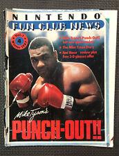 Vintage Nintendo Fun Club News NES newsletter Winter 1987 issue #4