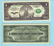 Want to be a Zillionaire? Zillion Dollar bill money + bonus