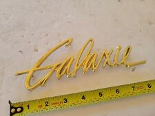 1960 60 Ford Galaxie 500 Nos Front Fender Emblem Gold Galaxie Original Fomoco