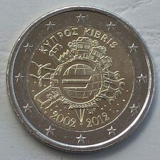 2 Euro Zypern 2012 10 Jahre Euro unz