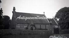 B/W Large Negative Binstead Isle Of White Church 1937 +Copyright Y460