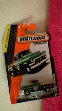 Matchbox (US Card) - 2014 - #18 '57 GMC Stepside - Dark Green