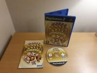 PLAYSTATION 2 - PS2 - SUPER MONKEY BALL DELUXE - COMPLETE WITH MANUAL - FREE P&P