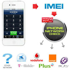 Fast iPhone IMEI checker Network & Carrier Check Sim lock status check