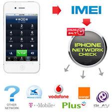 Red de comprobación de IMEI iPhone rápido & Portador cheque SIM lock comprobación de estado