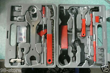 UNIVERSAL BICYCLE HOME MECHANIC 43 PC TOOL KIT SET REPAIR With A Case