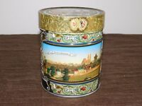 "2009  5 1/2""  HIGH  NURNBERG PANORAMA GERMAN GERMANY TIN CAN *EMPTY*"