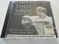 BBC Music-Tippett Conducts Tippett / Volume III / No 6 (CD Album) Used Very Good