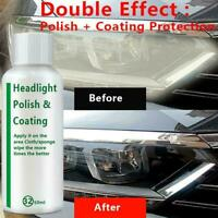 20ml Auto Headlight Polishing Fluid Restoration German Repair Car Kit