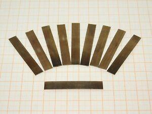 65Mn Federstahl Quadrat Blatt Blech Platte Dick 0.1mm-2mm Flach Metall Platten
