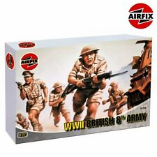 Airfix 01709 WWII British 8th Army 1/76 plastic scale model kit