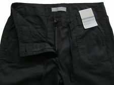 New Womens Marks & Spencer Black Crop Trousers Size 20 LABEL FAULT