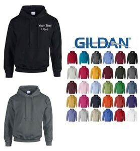 Custom Printed Embroidered Hoodie Unisex Personalised Stag Workwear Gildan