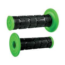 Odi Rogue Dual-Ply MX Grips Black/Green KX125 KX250 KX450F KX250F KX85 KX100