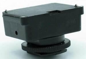 Metz Blitzadapter SCA 301 - Standardfuß mit Mittenkontakt + Kabel (II)