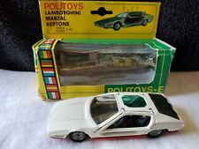 POLITOYS 1/43 - Lamborghini Marzal Bertone White  E 568 With Original Box