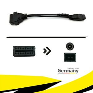 ★ PKW Diagnose Adapter Stecker Kabel OBD2 auf OBD1 für PEUGEOT PSA KFZ ★