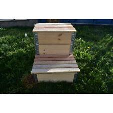 Composteur évolutif en bois naturel de 192 litres 800x600mm