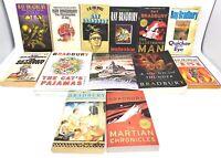 13 Ray Bradbury books Science Fiction Fantasy Literature SciFi SF & 1st Edition
