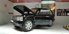 1:24 Scale Range Rover L322 TD6/4.4 V8 Black HSE Vogue Welly Diecast Model Car