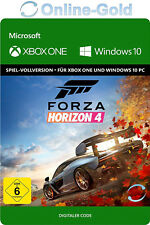 Forza Horizon 4 Xbox One & Windows 10 PC - Digital Download Key Code DE/EU