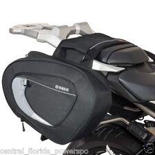 Genuine Yamaha 2014 2015  FZ1 FZ 1 Soft Saddle Bags With Mounting Kit
