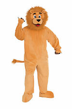 Adult Plush Lion  Mascot Costume Full Body Animal Suit Adult Size Standard
