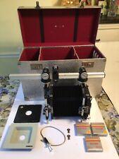 Cambo Sc Film Camera with Case and Accessories