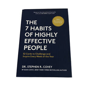 Seven 7 Habits of Highly Effective People 52 Cards Weekly Stephen R. Covey New