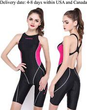 0d4d18767d Yingfa Girls Youth Sharkskin One Piece Technical Racing Swimsuit Swimwear  953 953-3 Blue 3xl