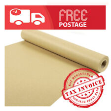 Brown Packaging Kraft Paper Roll thick 125GSM Width 900mm /please choose length/