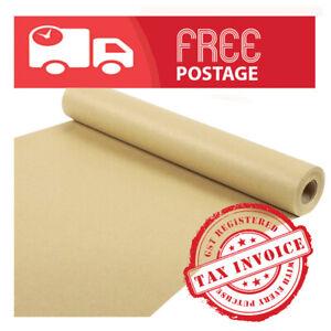 Brown Packaging Kraft Paper Roll thick 125GSM Width 900mm /please choose length/