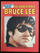 Unbeatable Bruce Lee HC Manual - Master in Action Kung-Fu Martial Arts Hardcover
