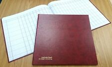 1 NEW LARGE HARD BACK 24 CASH COLUMNS ANALYSIS / ACCOUNTS BOOK - 96 PAGES