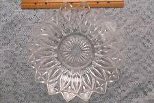 A Gem! Vintage Clear Depression Glass Fruit Bowl