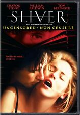 SLIVER -UNCENSORED (SHARON STONE)*****NEW DVD*****