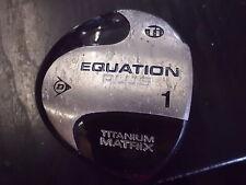 Pre Loved Dunlop Titanium Equation Plus Driver