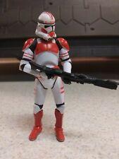 Star Wars Shock Trooper Clone Trooper Hasbro ROTS 2013 Action Figure 3.75