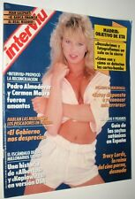 INTERVIU # 723 / TRACI LORDS Vintage spanish magazine March 1990 Complete!!!!