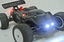 LOSI 1/14 MINI 8IGHT T TRUGGY 2XCFL REAL CARBON FIBER  BODY REAR SPOILER COMBO