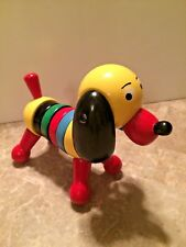 "Vintage ""PUCK THE STACKING DOG"" by BRIO made in Sweden"