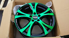 Carmani CA 9 6,5x16et38 lk5x100 Neon green polish