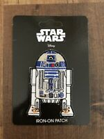 Star Wars Official R2-D2 /'Astromech Droid/' Force Awakens Lucasfilm Iron On Patch