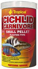 Tropical Cichlid Carnivore Klein Pellet 1000 ML Food For Cichlids Cichlid