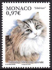 MONACO 2020 CATS CHATS KATZE GATTI GATOS [#2001]