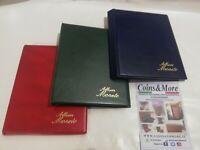 Album Raccoglitore per monete medaglie Masterphil 8 pagine da 12 caselle 50x50