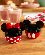 DISNEY MICKEY & MINNIE MOUSE SALT & PEPPER SHAKERS ~  ADORABLE! ~ GIFT IDEA ~NIB