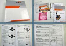 Still EXU 16 18 20 22 Betriebsanleitung Bedienung Ersatzteilliste CD 2007